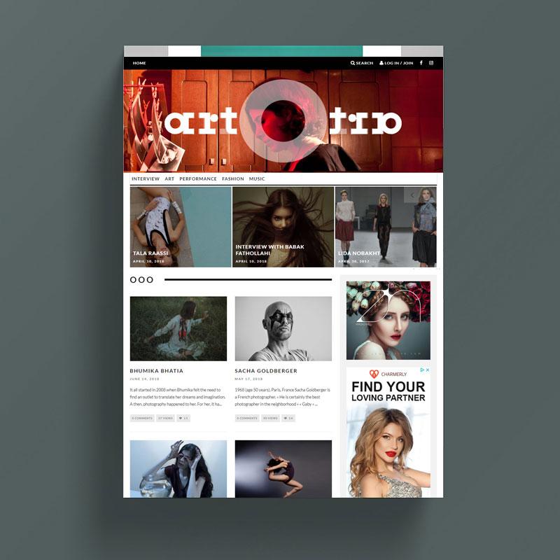 Artotra - Art - Magazine - Ideaby